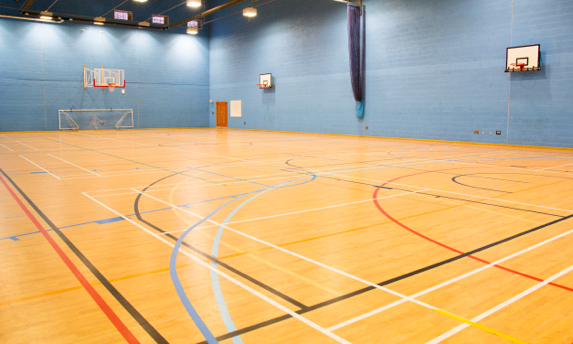 Loughborough College Sports Hall